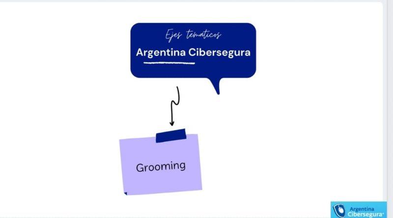16° MARTESclass: «Ejes temáticos de Argentina Cibersegura: Grooming»
