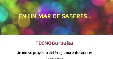 Llegó TECNOBurbujas!!!!